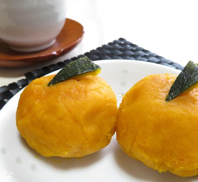 アトピーお菓子 かぼちゃレシピ 茶巾
