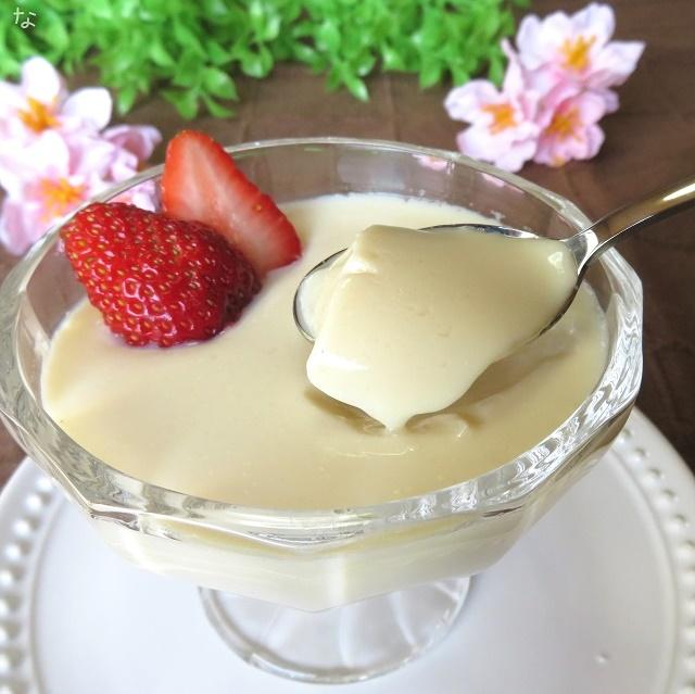 アトピーお菓子 寒天で作るとろとろ豆乳プリン グルテンフリー、卵なし 乳製品なし