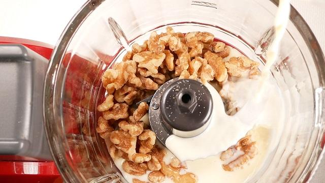 老化防止の食べ物、美肌の食べ物、胡桃汁粉(くるみ汁粉)の作り方