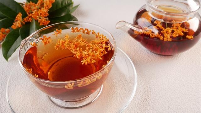 金木犀シロップ、金木犀お茶